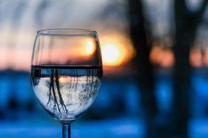 Le poids du verre d'eau